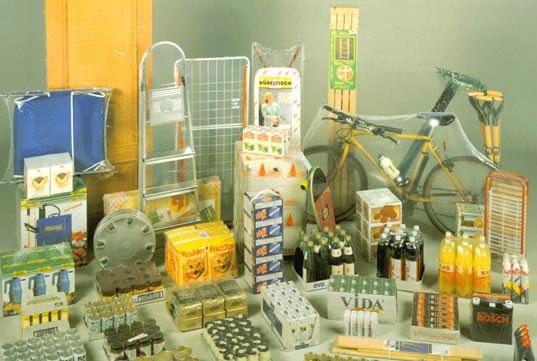 Máquina de Embalagem de Plástico